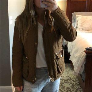 ZARA basic quilted jacket